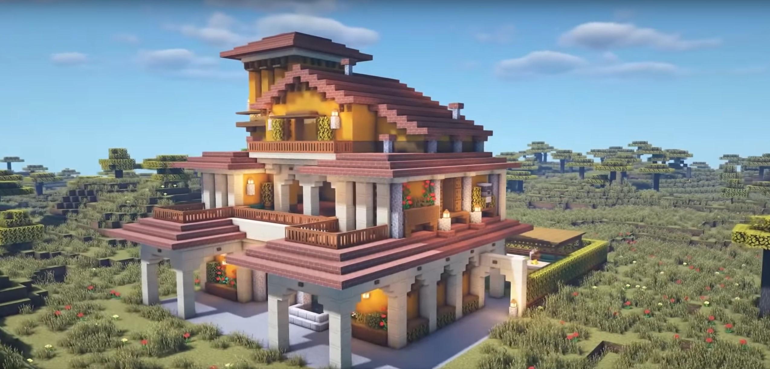 Minecraft Villa